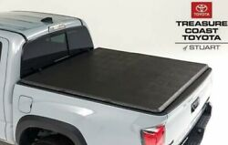New Oem Toyota 16-21 Tacoma Soft Tri Fold Tonneau Cover Short Bed Models 5ft Bed