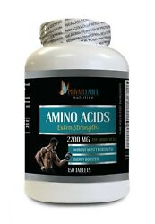 Muscle Building Pre Workout Supplement - Amino Acids 2200mg - Post Workout 1b
