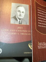 2015 Harry Truman Silver Coin And Chronicles Set With Ngc Proof 69 1 Coin