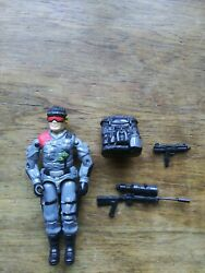 Gi Joe 1986 Low Light Action Figure 99 Complete Missing Stand