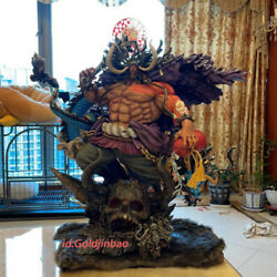 Jimei Palace One Piece Kaido Resin Model In Stock 1/6 Scale H75cm Led Light Hot