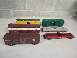 5 Lot Lionel Flatbed 3460 Freight Car Lot For Parts