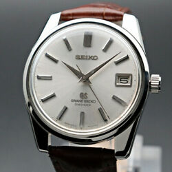 Grand Seiko 5722-9990 Gs57 Manual Winding Watch Vintage 1966's Oh Overhauled 660