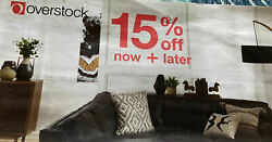 2 Overstock Coupons 15 Off Expires 7/31 2021 And 8/31/2021