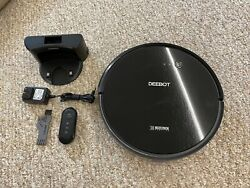 Ecovacs Deebot 601 Do3g.11 Robotic Vacuum Cleaner With Wifi Control - Used