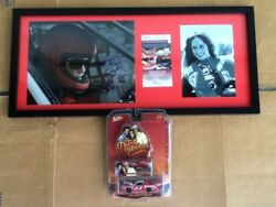 Dukes Hazzard General Lee Johnny Lightning 1/64 Catherine Bach Signed Autograph