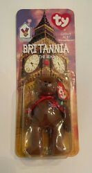 Ronald Mcdonald House Ty Britannia The Bear With 4 Errors Mint Condition
