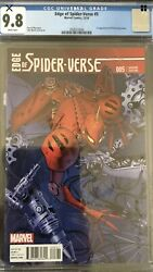 Edge Of Spider-verse 5 Cgc 9.8 Land 125 Variant 1st Peni And Sp Dr