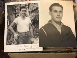 Usn Navy Seabee Letter Collection Ww2 87th Navy Construction Battalion