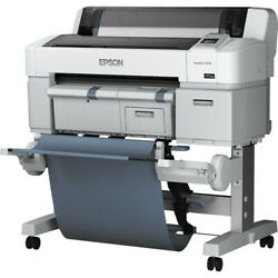 Epson Surecolor T3270 24 Wide Format Printer + 6 New Roll Of Glossy Paper
