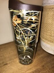 Tervis Camouflage Camo Real Tree Travel Mug Tumbler Cup Hot Cold 24 Oz W Top Lid