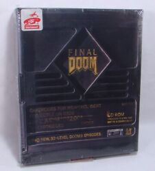 Final Doom Factory Sealed New In Box Vintage 1996 Id Software Pc