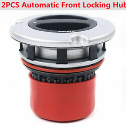 2pcs Automatic Front Lockout-auto Locking Hub Lock For Ford Super Duty 05-10