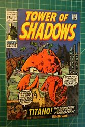Tower Of Shadows 7 1970 Solid Mid Grade/fn/vf- Barry Smith, Wally Wood Artwork