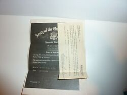 Wwii 1948 Army Honorable Discharge Paper William Henry Wamboldt Inducted 1942