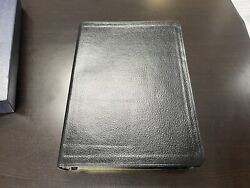 Oxford 1945 Kjv Scofield Reference Bible Red Letter Concordance Leather New