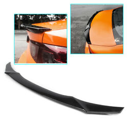 1x Black Accessories Rear With Wing Spoiler Cover Trim Fit Mazda 3 Axela 2019-20