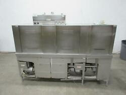 Hobart Crs86a Heavy Duty Commercial Conveyor Dishwasher