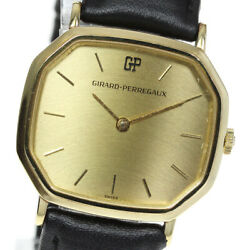 Girard-perregaux Cal.101 Antique Gold Dial Hand Winding Menand039s Watch_618612