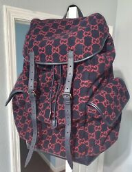 Wool 2200 Extra Large Backpack Authentic W/ Dust Bag Brand New Never Used