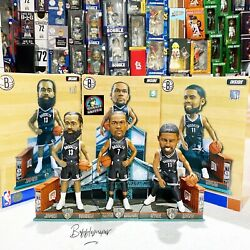 James Harden Kevin Durant Kyrie Irving Brooklyn Nets Nba Exclusive Bobblehead