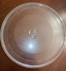 Ge Microwave / Advantium Convection Oven Glass Turntable Plate 13 1/2 Inches