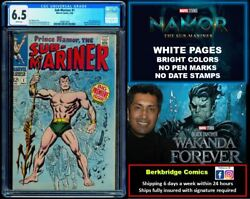 🔥 Sub-mariner 1 Cgc 6.5 White Pages Nicer Than Most 7.5 🔥 1 Ship W Any Ff 33
