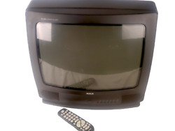 Rca 20 Xl 100 Crt Tube Tv Rf Coax Tested Works With Remote Vintage