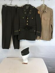 Ww2 Us Army Officers Dress Uniform Complete Excellent Condition