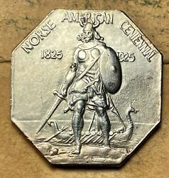 1925 Norse American Medal Thick