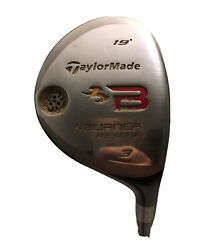 Right Handed Taylormade Burner 3 Woods 19 Rescue Club
