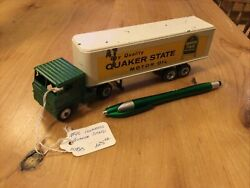 Vintage Quaker State Truck 164 Green/yellow
