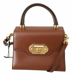 Dolce And Gabbana Bag Womenand039s Brown Leather Crossbody Purse Welcome Purse