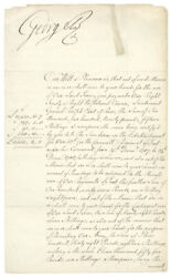 King George Iii Great Britain - Royal Warrant Signed 02/01/1793 With Co-signer