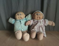 Vintage Cabbage Patch Doll 1978 – 1982 Two Dolls