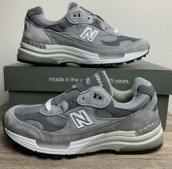 New Balance 992 Gray/grey - Size 7-12 -brand New -100 Authentic -free Shipping