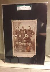 Rare1894football Cabinet Card West Virginia Wvu Mountaineers Antique Vintage Old