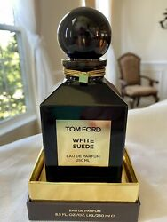 Tom Ford White Suede 8.5 Oz 250 Ml Splash Decanter Brand New Authentic 👍