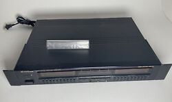 Pioneer Gr-777 Stereo Graphic Equalizer Eq Double Spectrum Analyzer Vintage