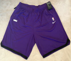 Player Issue Nike Dri-fit Sacramento Kings Nba Warm Up Shorts Practice M Nwt's