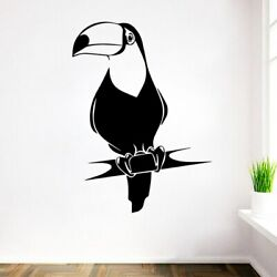 Modern parrot Removable Wall Stickers For Kids Room Decoration Art Sticker Mural