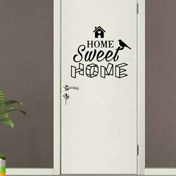 American Style Home Sweet Home Removable Wall Stickers For Kids Rooms Door Decor