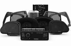 Rockford Fosgate Hd9813rg-stage3 Source Unit, 4 Speakers And Amplifier Kit For ...
