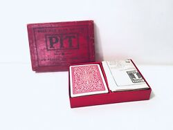 Vintage Pit Card Game Bull And Bear Edition Parker Brothers Rare Patent Pending