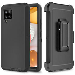 For Samsung Galaxy A12 A42 5g Phone Case + Armor Belt Clip Fit Otterbox Defender