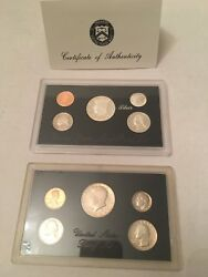 1994 S Us Mint Silver Proof Coin Set. 1983 Us Mint Proof Coin Set. Lot/2
