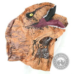 Used Rubieand039s Official Jurassic World Inflatable Dinosaur Costume - Standard