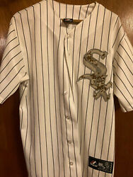 Chicago White Sox Baseball Jersey - Chris Sale - Size M - Camouflage Camo