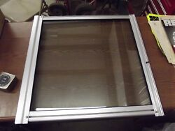 Tracker Center Glass For A Dv Boat Windshield Center Walkthrough Door 2and039 X 2and039