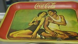 Vintage Coca Cola Drink Refreshing Delicious Bright And Colorful 6 Tin Trays